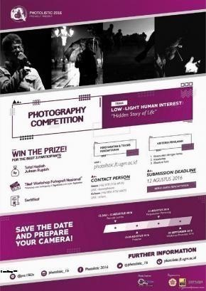 "Lomba Fotografi Tingkat Nasional ""Low-Light Human Interest : Hidden Story of Life"""
